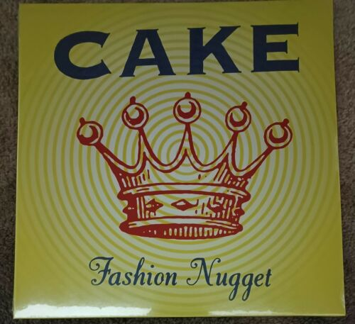 Cake Fashion Nugget Colored Vinyl New/Sealed