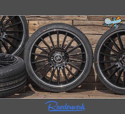 NEU Für Mercedes CLS 218 219 SL 230 231 AMG Sommerräder KT15 19 Zoll schwarz ABE