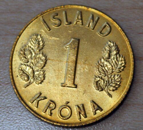 1974 Iceland 1 Krona