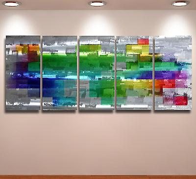Aluminium Metal Modern Abstract Wall Art Original painting Huge Contemporary