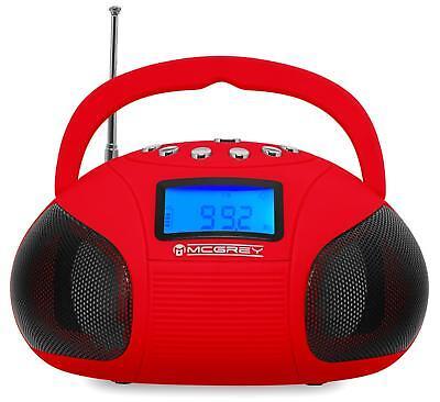 Tragbares Bluetooth Mini Radio mit USB SD MP3 Spieler und AUX Anschluss Speaker