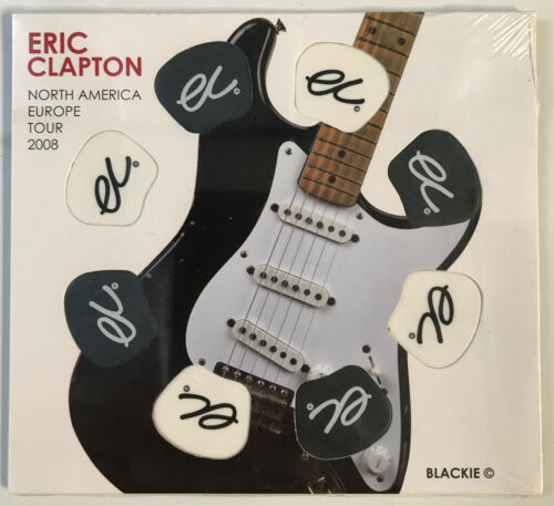 ERIC CLAPTON 2008 GUITAR PICK PACK NORTH AMERICA EUROPE 8 picks