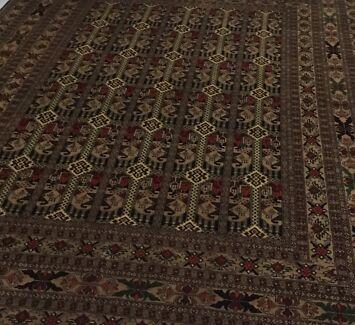 Afghani hand made rug