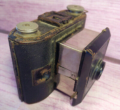 Agfa PD16 Clipper Camera 1920s Vintage Ansco Corp Binghamton NY Set Prop German, used for sale  Shipping to India