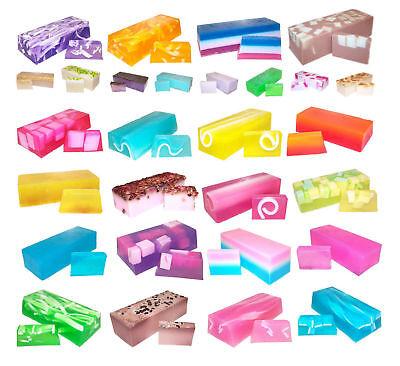 Handgefertigte Seife Bars (G08 - Eindrucksvolle Düfte Handgefertigt Leib Stück Seifen 2 X bar oder 1.3kg)