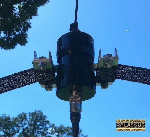 80 Meter K5WZ Horse Fence HF Dipole Antenna / 6m-80m