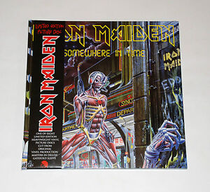 Iron-Maiden-Somewhere-In-Time-LTD-Ed-Deluxe-Gatefold-12-Picture-Disc-Pic-LP