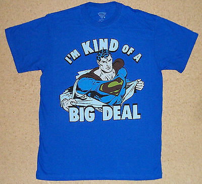 Superman I'm Kind Of A Big Deal Shirt Officially