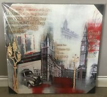 London Painting 3D square 80x80 Bayview Darwin City Preview