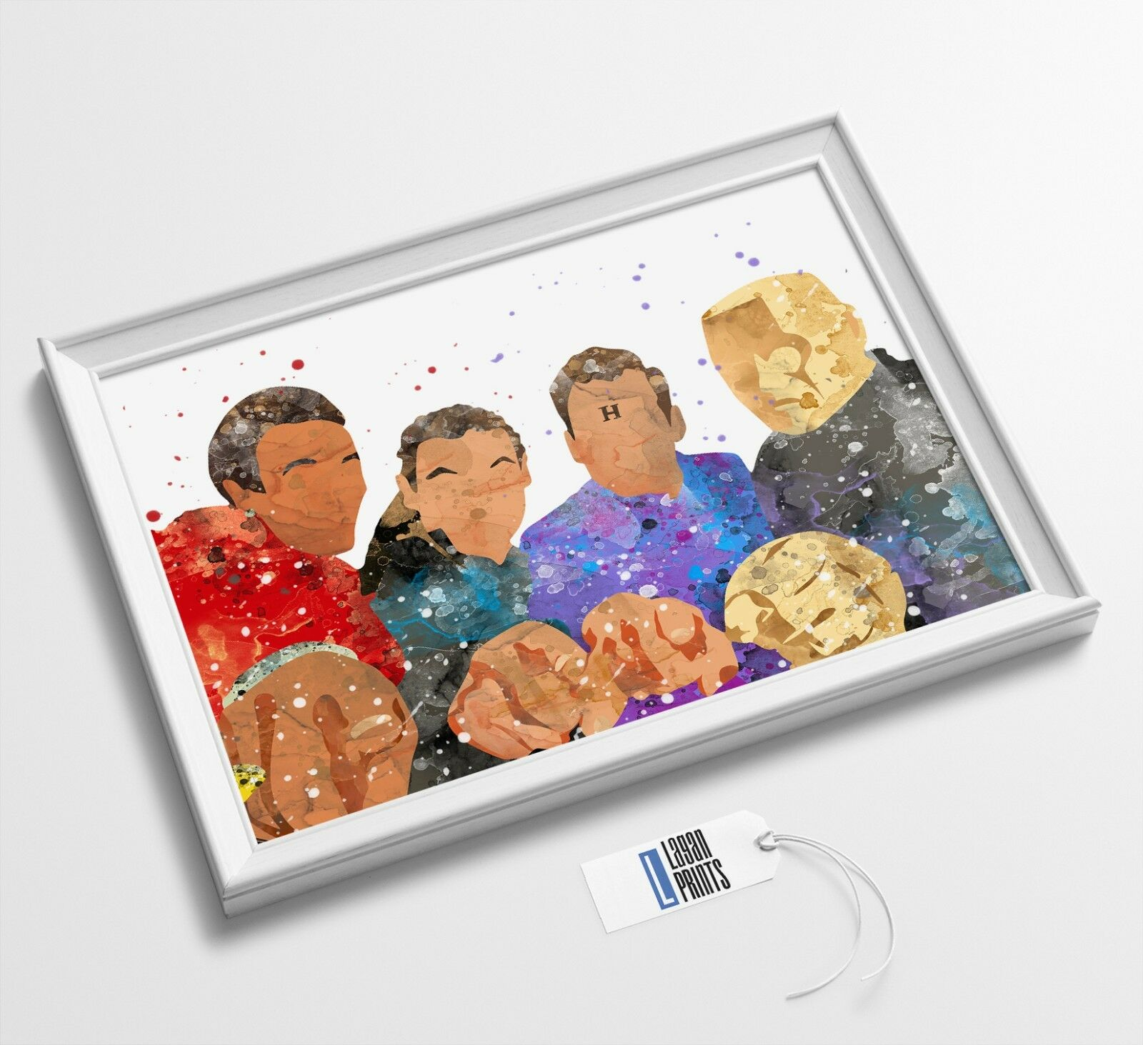 GICLEE CANVAS WALL ART *Choose your size RED DWARF
