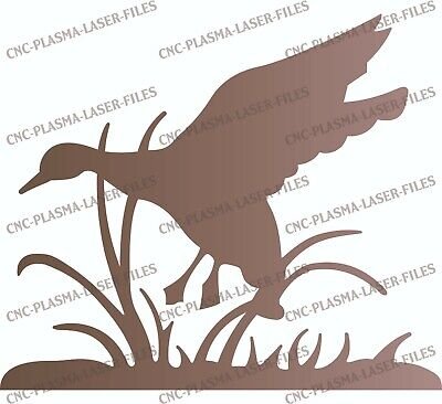 Duck Dxf Sign For Plasma Laser Waterjet Router Plotter Cut Vector Cnc File