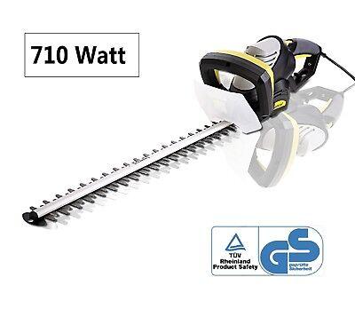 Heckenschere Elektro 710W Strauchschere Heckentrimmer elektrisch 610mm Schnitt
