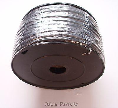 50m ( € 0,60 / m ) 1,5mm² Kfz Kabel 2-adrig Fahrzeugleitung flach