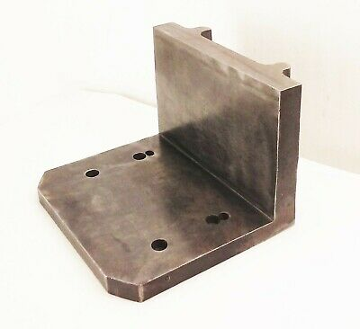 Machinist Mill Drill Tool Die Right Angle Plate 90 Degree Back Clamp Plate