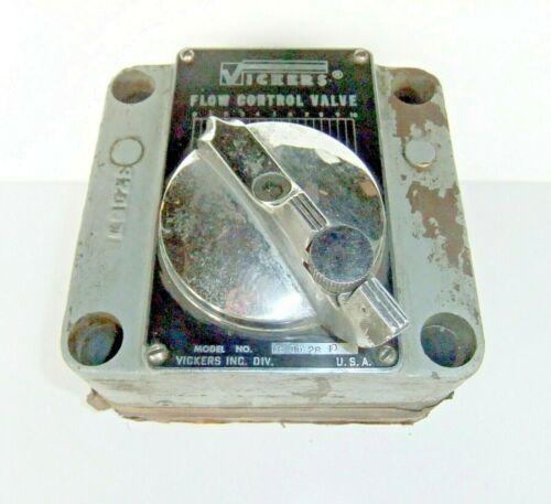 Vickers Flow Control Valve FG062810