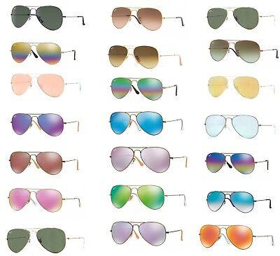 Sonnenbrille ray Ban RB 3025 Aviator Klassische und polarisierte Linse