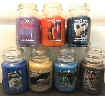 Goose Creek 24oz. Large 2 Wick Jar Candles - You Choose Scent! Large 2 Wick