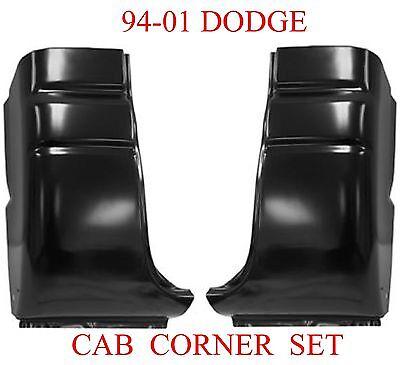 94 01 Dodge Regular Cab Corner Set, 2 Door Ram Truck, Both Left & Right, 1.2MM