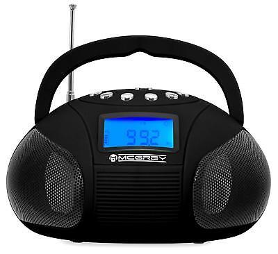 Tragbares Bluetooth Mini Radio mit USB SD MP3 Spieler und AUX Anschluss Speaker (Mini Radio)