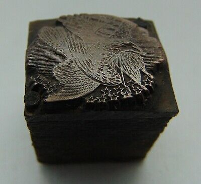 Printing Letterpress Printers Block Copper Bird