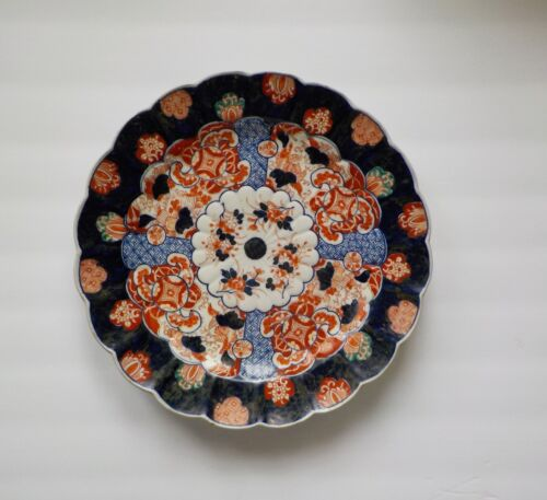 "19th C. Japanese IMARI Porcelain 12"" Charger / Platter #2"