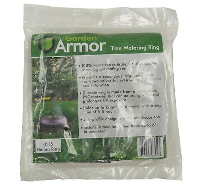 Garden Armor 15 Gallon Slow-Release Tree Watering Ring (1 Lot of 3 Rings)