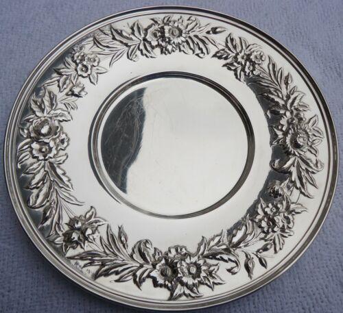 """Vintage Silverplate Kirk Stieff  10"""" Round Plate."""