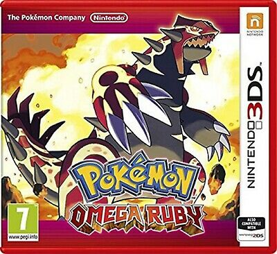 Pokemon Omega Ruby 3DS Nintendo Video Game Mint Condition Original UK Release