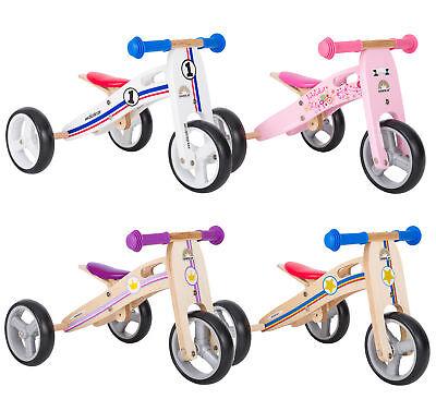 BIKESTAR Kinderlaufrad Laufrad Dreirad (Kombi 2 & 3 Rad) umbaubar   ab 18 Monate
