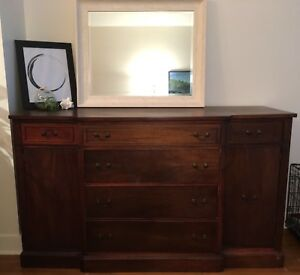 Antique Solid Wood Buffet
