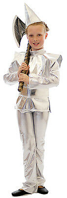 Wizard of Oz THE TIN MAN Fancy Dress costume Trousers, Hat, Tabbard,Tunic, Belt