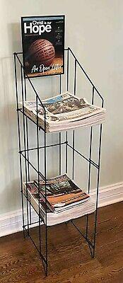 Fixture Displays Wire Newspaper Rack Magazine Stand Magazine Rack
