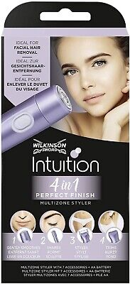 Wilkinson Sword 4-in-1 Intuition Perfect Finish Multi-Zone Women's Styler and Tr