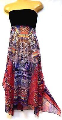 TS dress TAKING SHAPE plus sz S / 16 Ipanema Dress or Skirt sexy semi-sheer NWT!