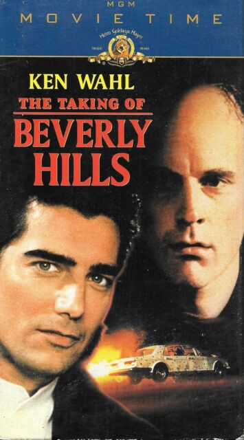 THE TAKING OF BEVERLY HILLS (VHS) KEN WAHL ACTION - Only on VHS!