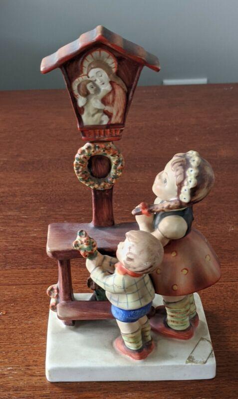 Vintage Goebel Hummel #23/1 Adoration Figure Boy & Girl Praying