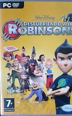 DESCUBRIENDO A LOS ROBINSONS. JUEGO PARA PC. PAL-ESP. NUEVO, PRECINTADO.