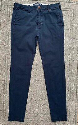 Hollister Men's Super Skinny Chino Straight Pants Advance Stretch Size W 32 L 34