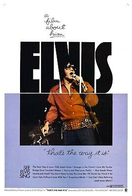 ELVIS:THATS THE WAY IT IS -2 ODD 16MM REELS FOR SALE](Movie Reels For Sale)