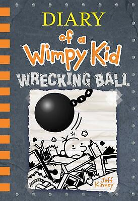Wrecking Ball Diary of a Wimpy Kid Book 14 PRE ORDER Releases Nov 5,