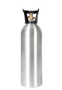 20 lb New Aluminum CO2 Tank With Handle - CGA320 Valve - Homebrew  Free Shipping