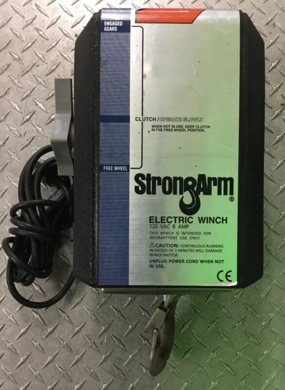STRONGARM, 120VOLT AC, 8 AMP,  ELECTRIC WINCH, SA12000AC