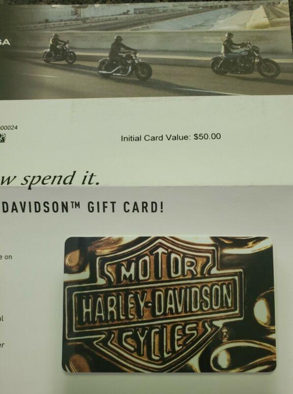 Harley-Davidson $50 Gift Card