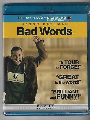 Bad Words (Blu-ray & DVD, 2014, 2-Disc Set) Brand New Sealed Jason Bateman