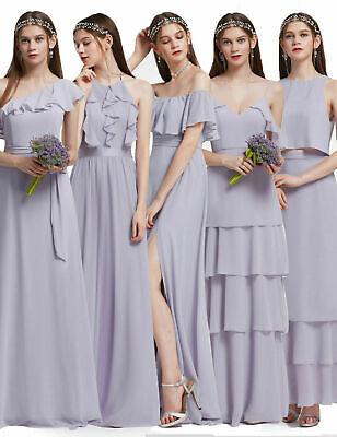 Ever-Pretty US Elegant Halter Long Summer Bridesmaid Homecoming Dresses 07201