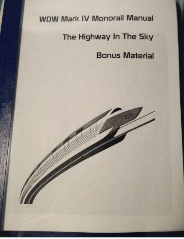 Disney Monorail Training Guide And Vehicle Facts