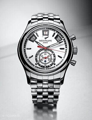 Patek Philippe 5960/1A Steel Annual Calendar Chronograph Watch