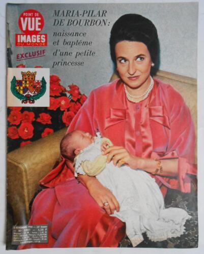 ►POINT DE VUE 1061 -1968 - MARIA PILAR - FATIMA - PAOLA -  PIAF - GRACE KELLY
