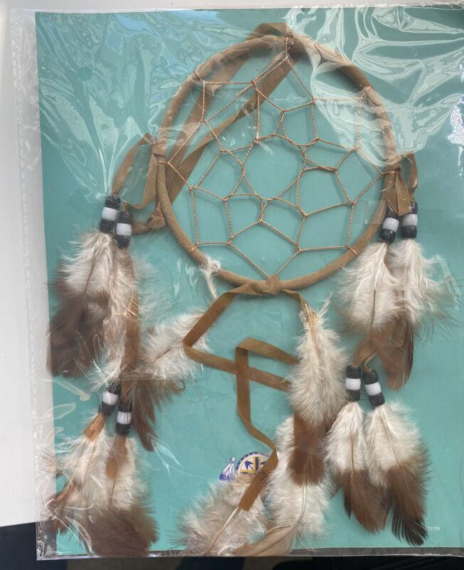 Lakota Sioux Dreamcatcher Brown Feathers Native American Culture