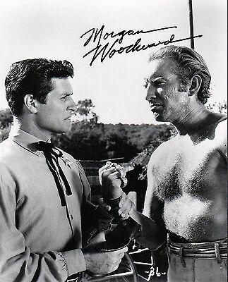 Morgan Woodward Wyatt Earp Cool Hand Luke (1967) 8x10 AUTOGRAPHED Signed Glossy